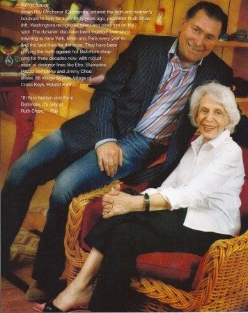 Ray and Ruth in a 2005 feature in PaperDoll.