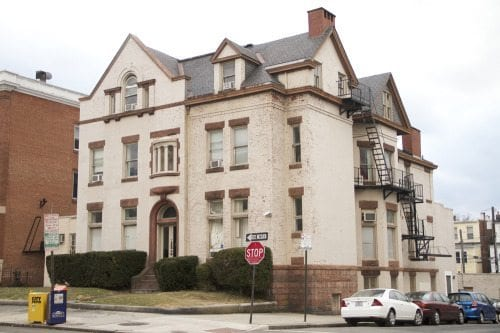 Sigma Alpha Epsilon house (via JHU Newsletter)