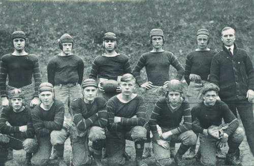 McDonogh football team, 1916.